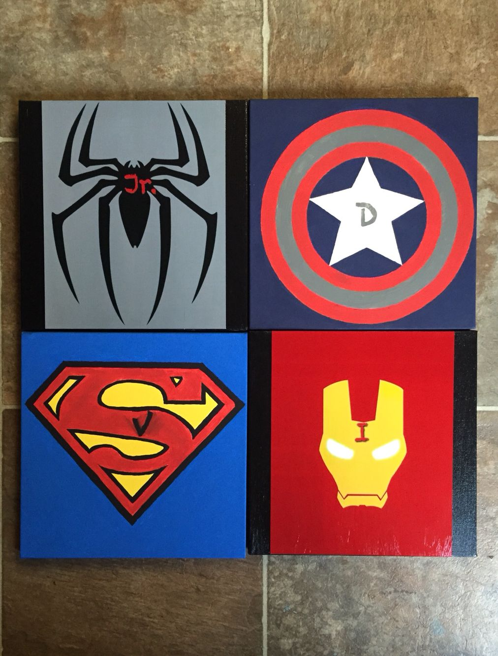 Picture Canvas Painting Little Mix Of Everything Superhero Room Canvas Pictures Painting