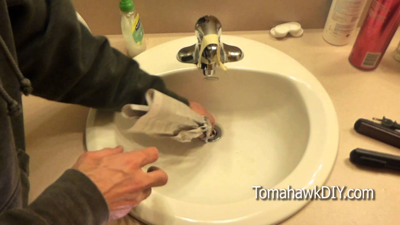 Easy To Fix A Clogged Sink No Tools Needed Youtube Clogged Sink Bathroom Bathroom Sink Unclog Sink [ 720 x 1280 Pixel ]