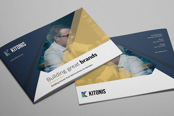 Modern Business A5 Brochure Pinterest Brochures And Template
