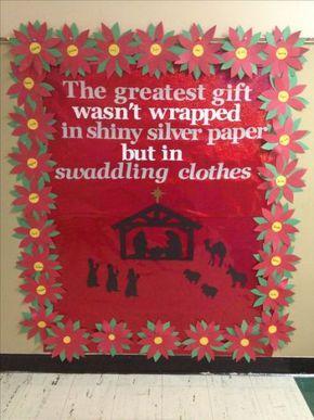 mrs bs christmas bulletin board