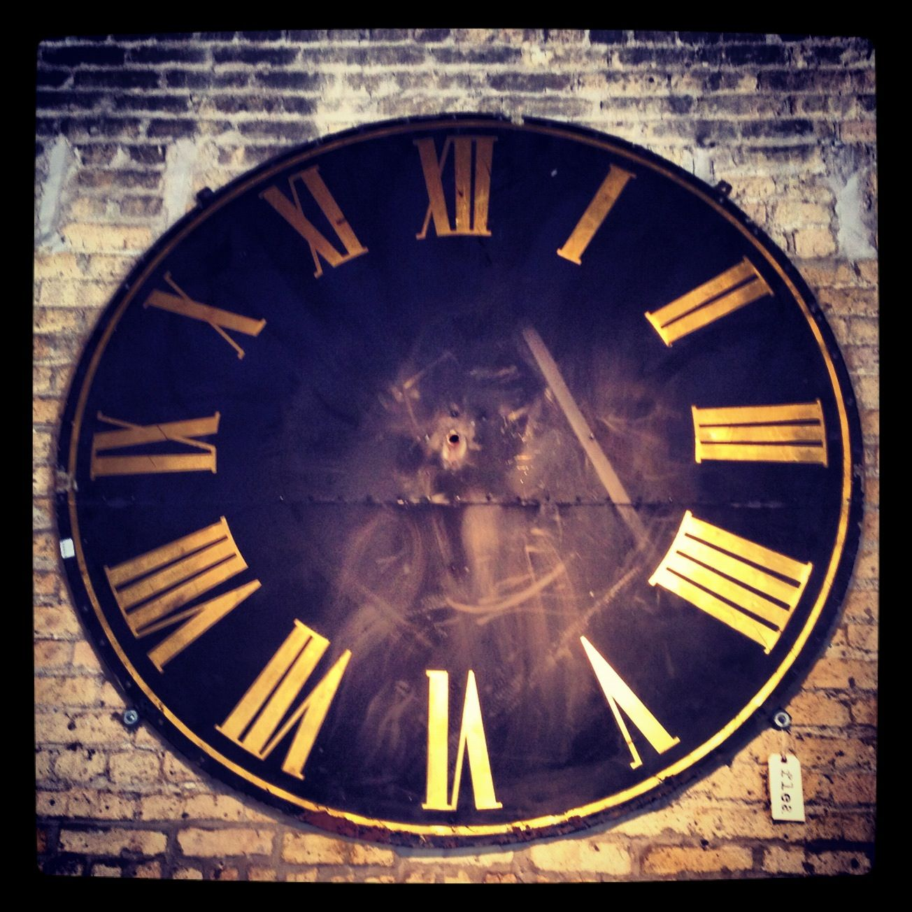 Large Antique Clock Face