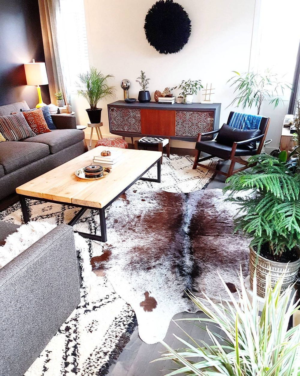 Cowhide Rug Calgary in 2020 Attic bedroom decor, Cow