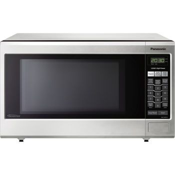 Perfect For Countertop Or Built In Installation This Panasonic Microwave Features Inverter Technology To Deliver A Seamless Stream Of Cooking