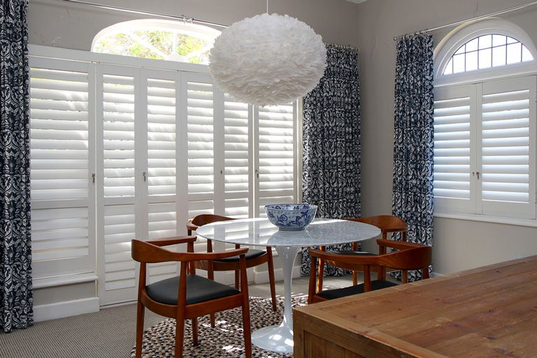 Security Shutters for dining room windows by The