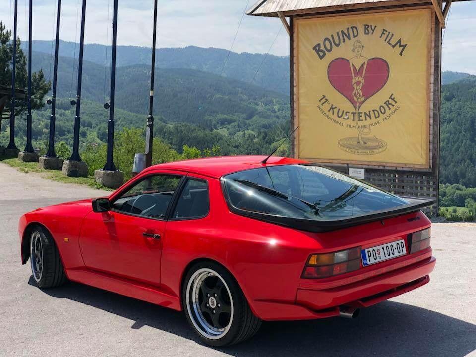 Porsche 944 Euro Row Spec In Guards Red With Veloce Wheels Side Skirts And Turbo Rear Diffuser Porsche 944 Porsche Porsche 968