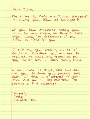 Live Letter #3- 100% Human Handwritten Yellow Letters!! www