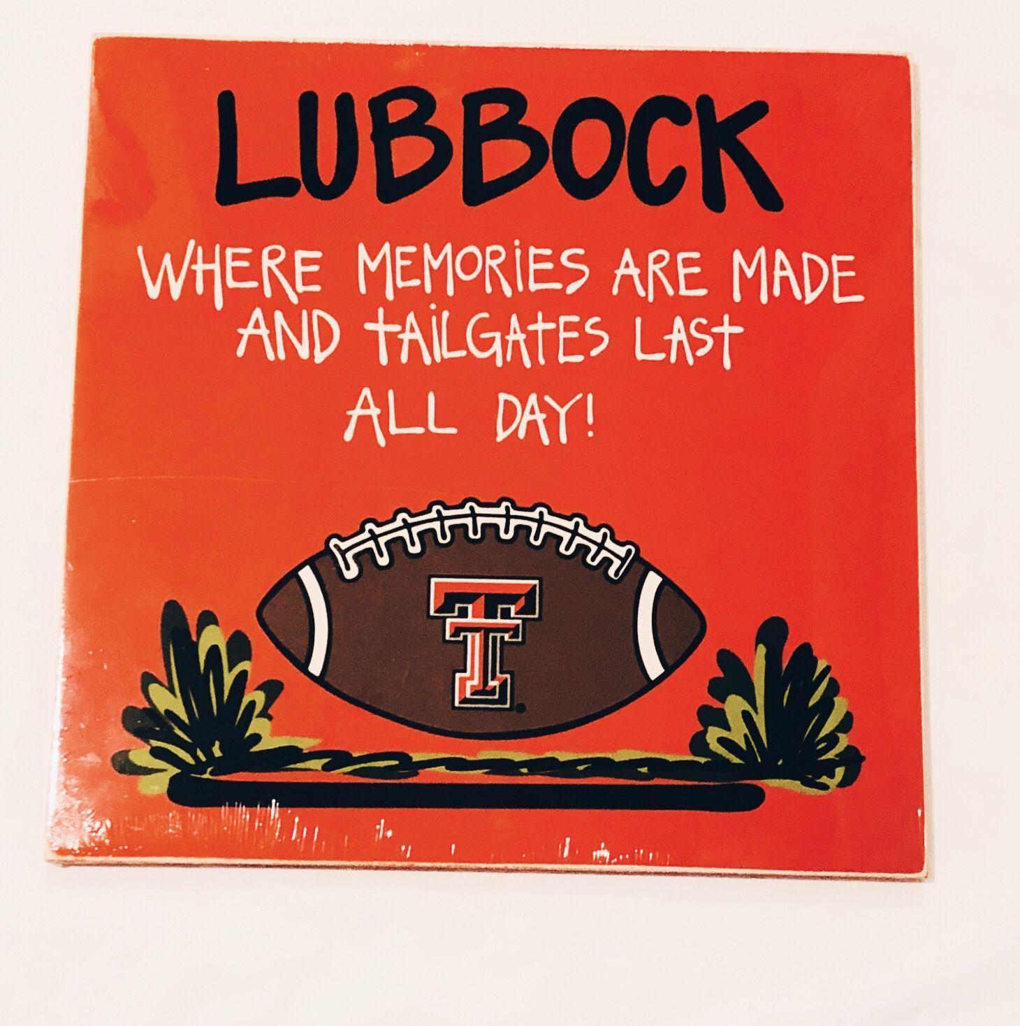 Tailgate Sign Texas tech, Tailgating, Signs