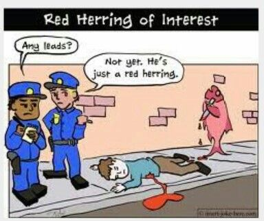 A Red Herring Is Something That Misleads Or Distracts From A