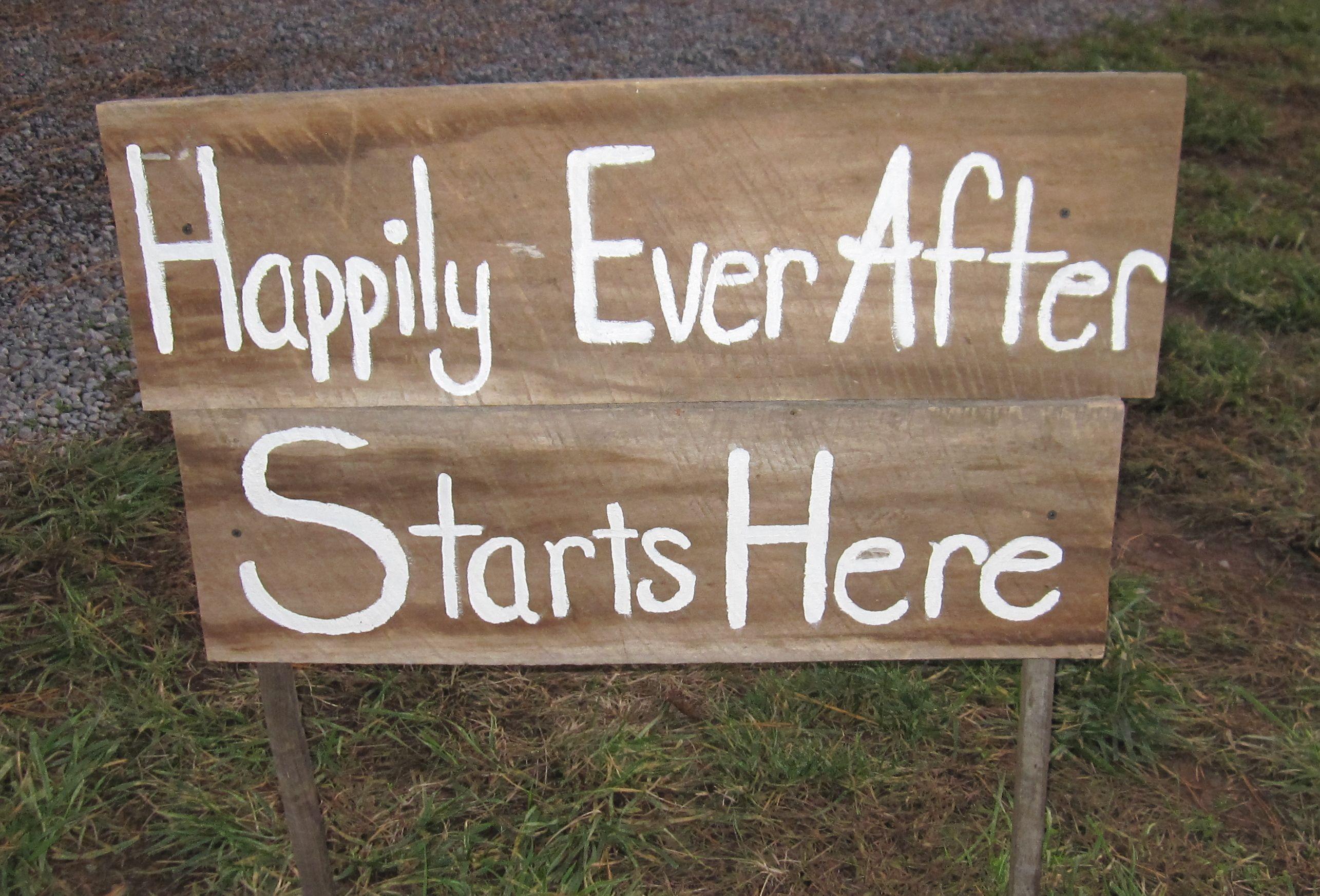 Barn wood signs | Megan's Mountain Wedding | Pinterest