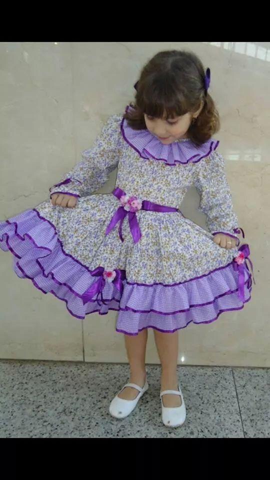Festa Junina lindo vestido as meninas adoram!   vestidos de fiesta ...