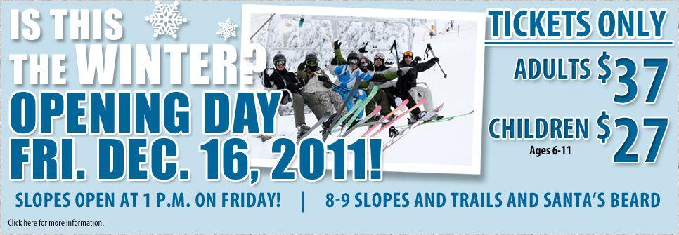 It's Ski Season!!
