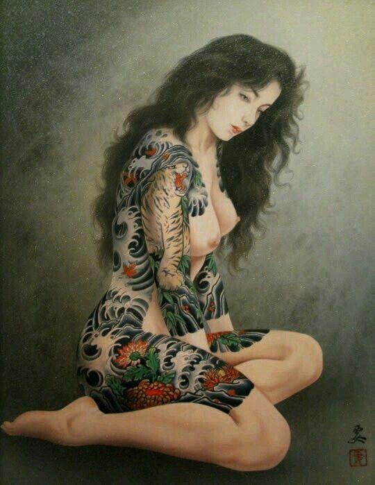 Tattoo asian erotic
