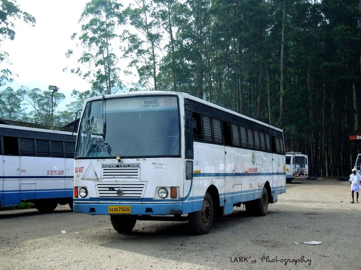 Ksrtc Rac407 Kl15 7566 Theni Munnar Via Bodinayakanur