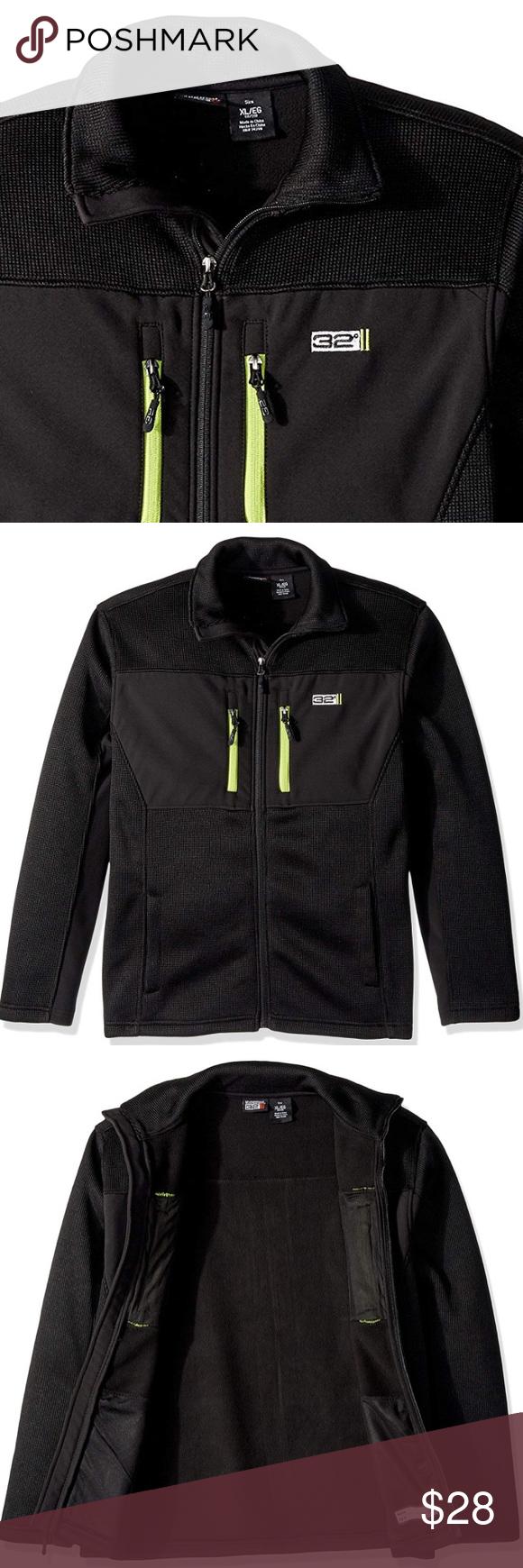 Big Boys Outerwear Jacket Softshell New With Tags Black Black 32 Degrees Weatherproof Big Boys Outerwear Boy Outerwear Outerwear Jackets Weatherproof Jacket [ 1740 x 580 Pixel ]