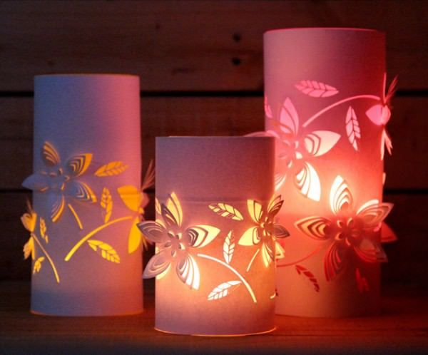 Re purposed dimensional lantern with color glow paper lanterns re purposed dimensional lantern with color glow do it yourself ideas solutioingenieria Image collections