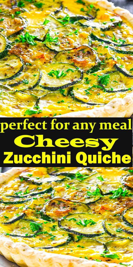 Cheesy Zucchini Quiche Cheesy Zucchini Quiche