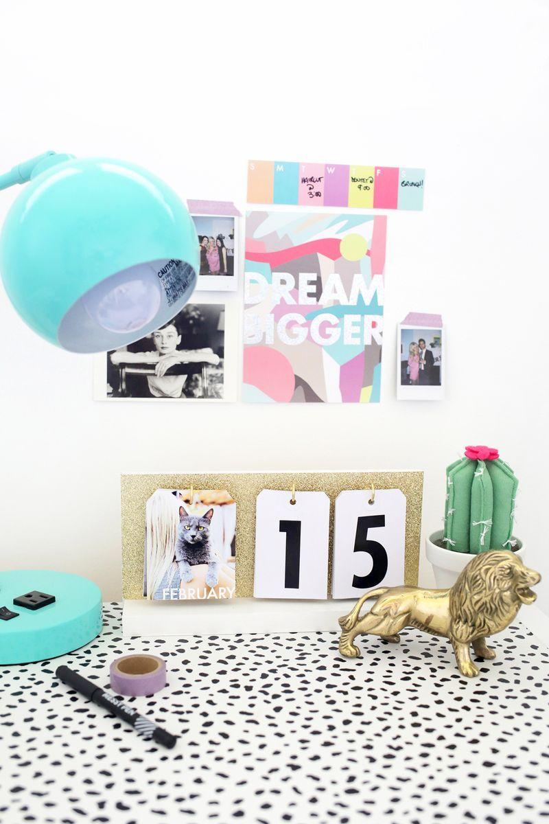 Perpetual Flip Calendar Diy Diy Calendar Flip Calendar