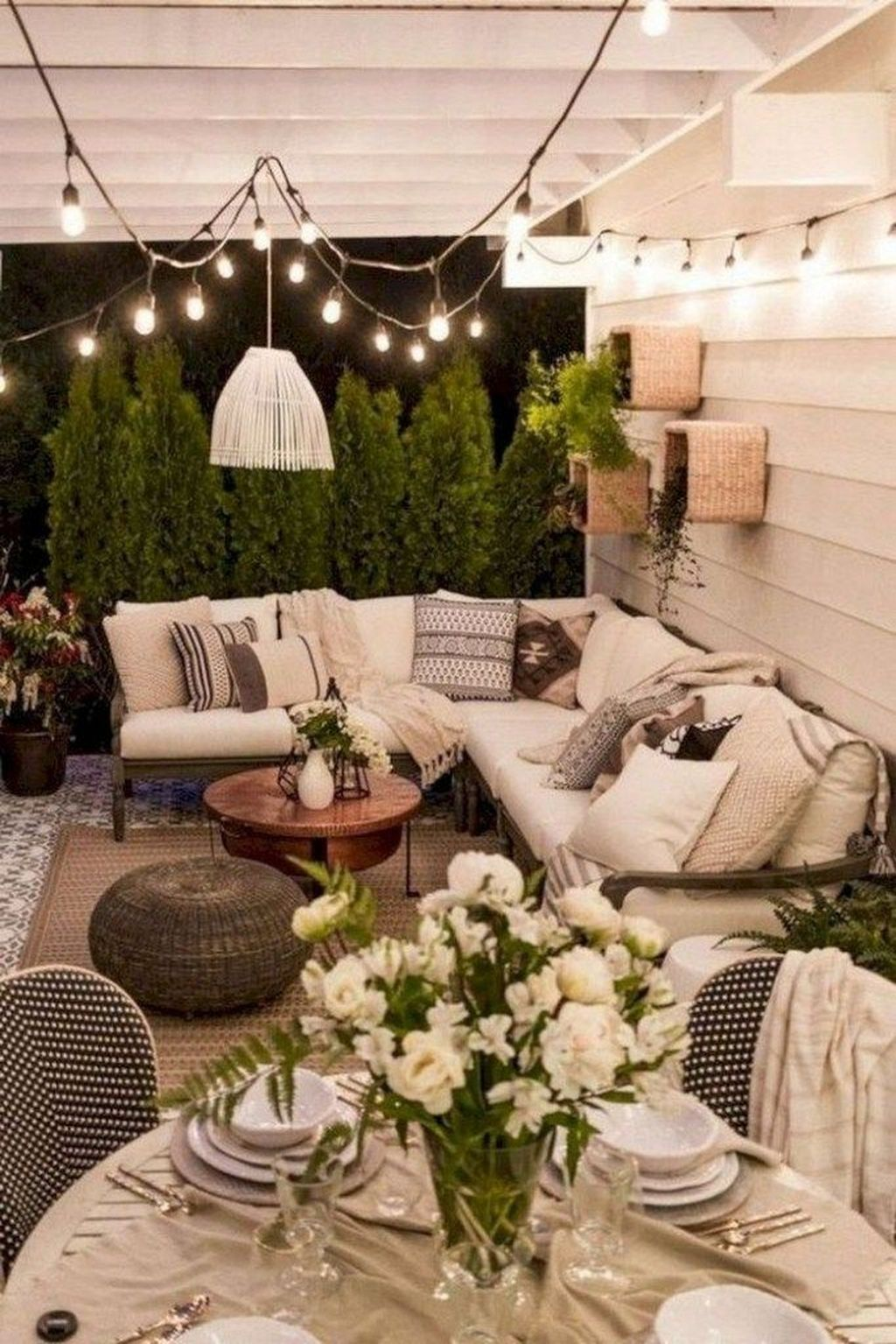 20+ Inspiring Backyard Patio Design Ideas With Beautiful Landscaping - LOVAHOMY