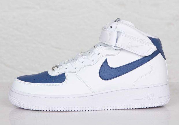 1 Nike Air LagoonAf1amp; Force Whiteblue The Sneakers Mid zSULVpqGM