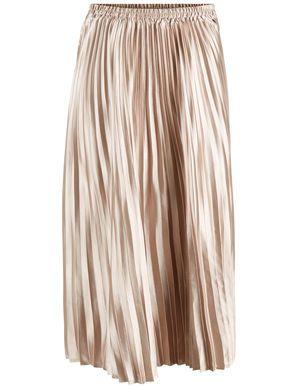 Plisseret Guld Midinederdel Tøj Pinterest Gold Fabric Skirts