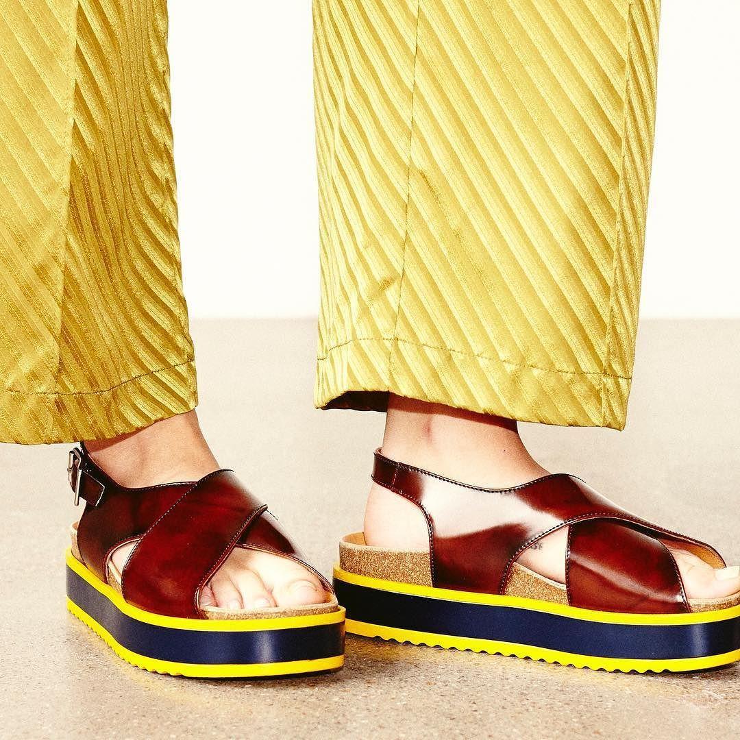 44304eb9 Ganni Haley Shine sandals and Garcia silk pants #ganni by ganni ...