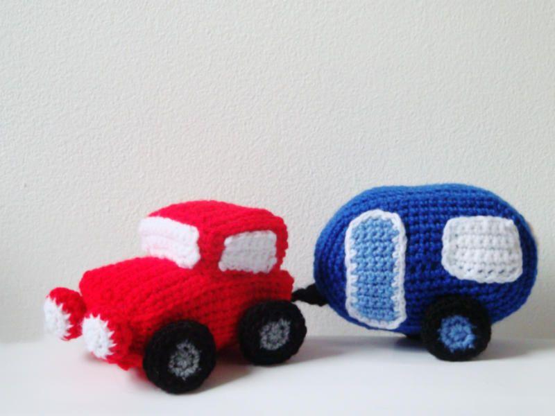 Amigurumi Patterns Cars : Car caravan amigurumi pattern crochet pinterest