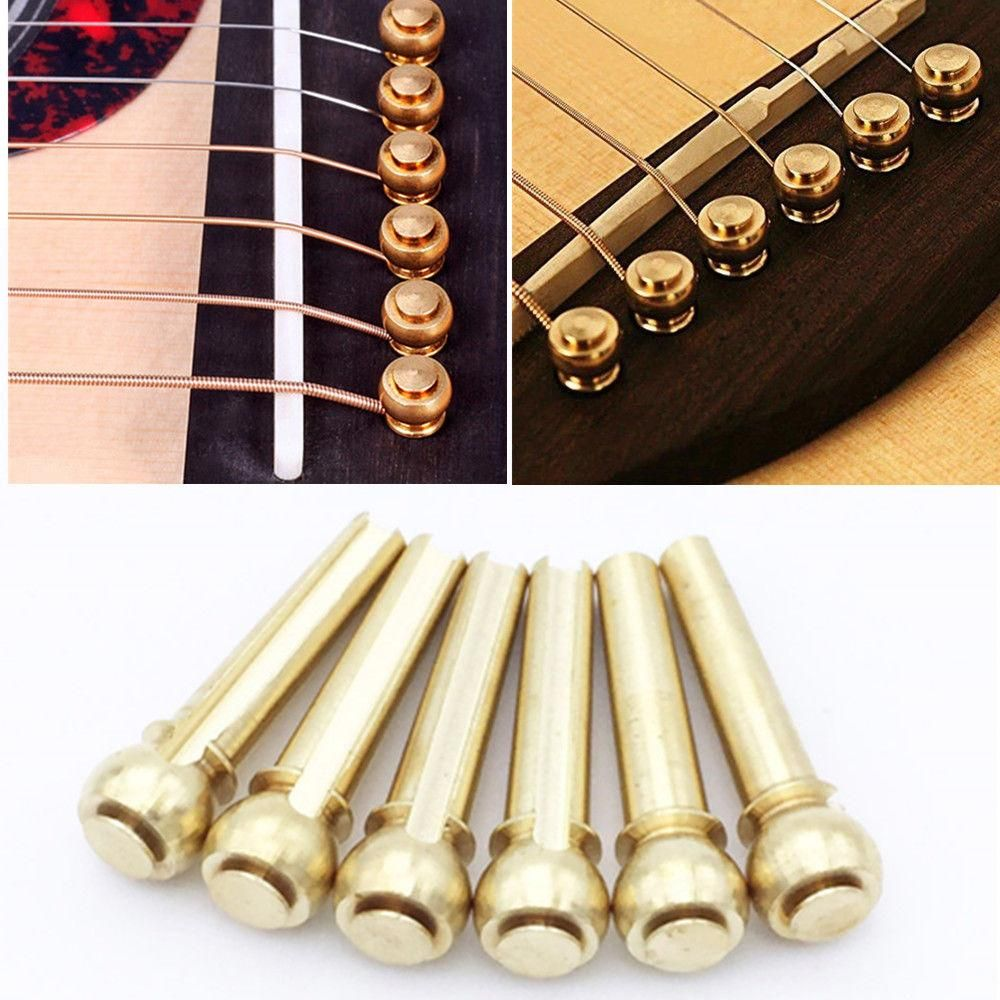 how to string an acoustic guitar with pegs