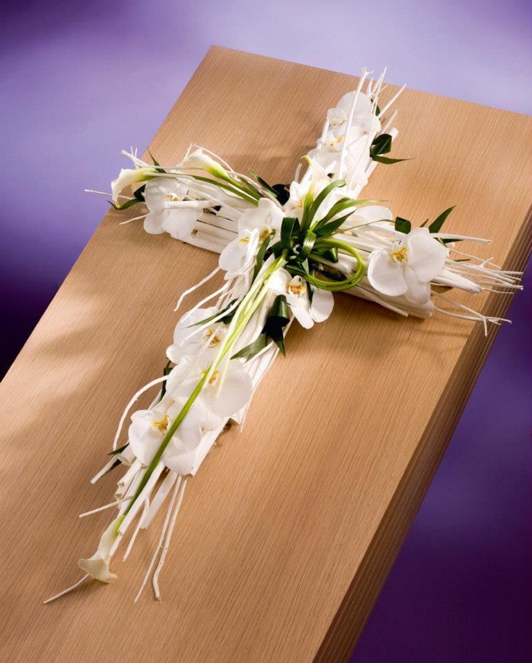 funeral flowers | bloemschikken | Pinterest | Trauer ...