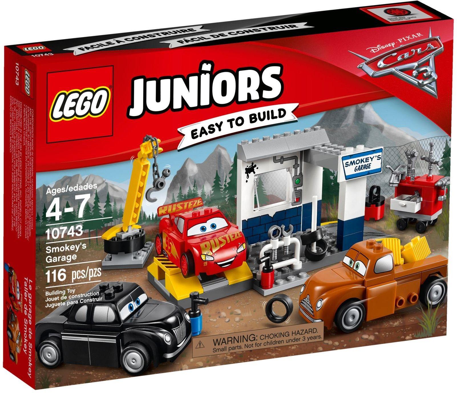Lego Junior 10743 Cars 3 Garage Của Smokey Lego Juniors Lego