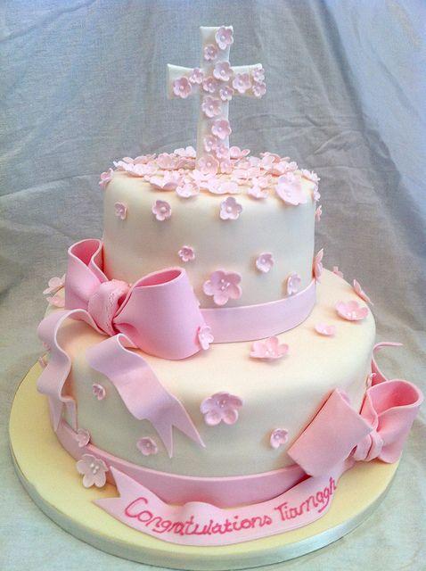 Confirmation Cake, via Flickr. Gimme