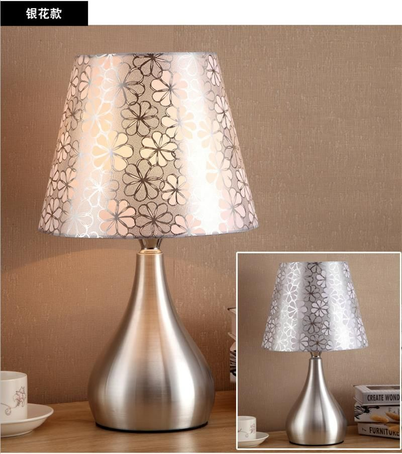 Creative simple table lamps bedroom bedside modern european style creative simple table lamps bedroom bedside modern european style living room warm bed headlights desk lamps aloadofball Image collections