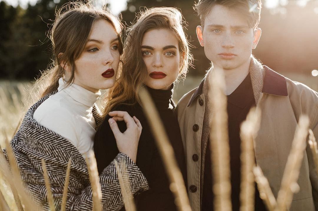 KOTN (@wearkotn) a story of three siblings at the OR coast. Styling: @benjaminholtrop MUAH: @kyliesallee Models: @kyla_na @mike_deming @chloe.kramer Photo Assist: @calebgaskins