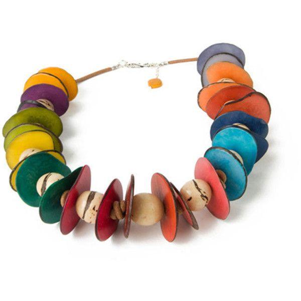 LeJu Playa Necklace ($91) ❤ liked on Polyvore