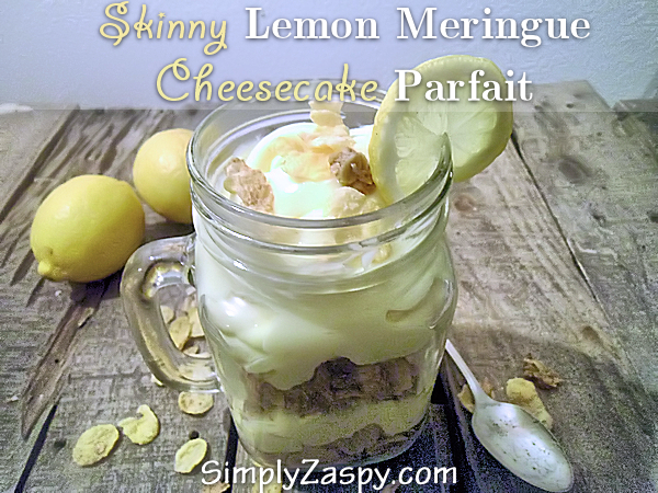 Skinny Lemon Meringue Cheesecake Parfait #lemonmeringuecheesecake Skinny Lemon Meringue Cheesecake Parfait #lemonmeringuecheesecake
