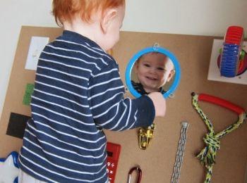 Attività Bambini ~ Pannelli sensoriali per bambini nursery school