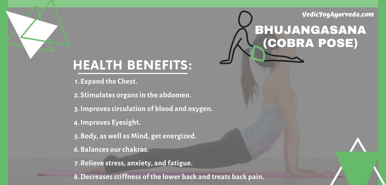 Bhujangasana Or Cobra Pose Health Benefits Cobra Pose Yoga Poses For Beginners Poses