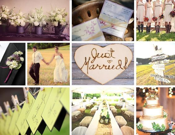 Country/Rustic Wedding - south Florida wedding planner