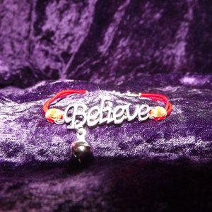 Jingle Bells Believe Bracelet by Emmysallthatsgood on Etsy, $4.00