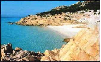 Cala Soraya - isola di Spargi  Arcipelago de La Maddalena - Sardegna