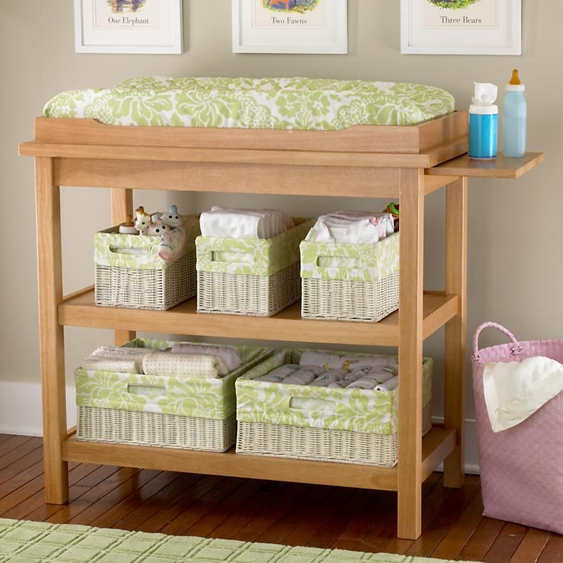 cute changing table....wonder it daddy and papa could build this ...