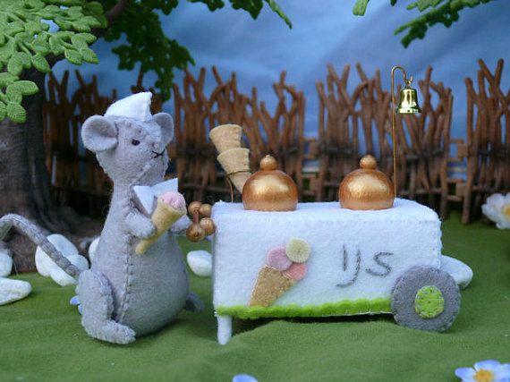 Morris the Ice cream maker via Etsy