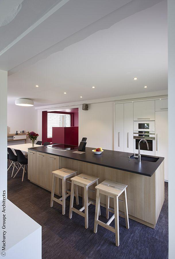 PARCOURS - rénovation d\u0027une maison Architecture d\u0027Intérieur Cuisine