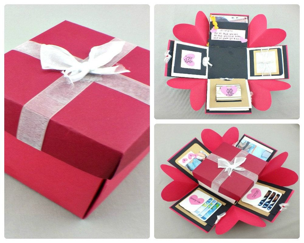 Love Explosion Box | Photo Box | Picture Box | Love Box ...