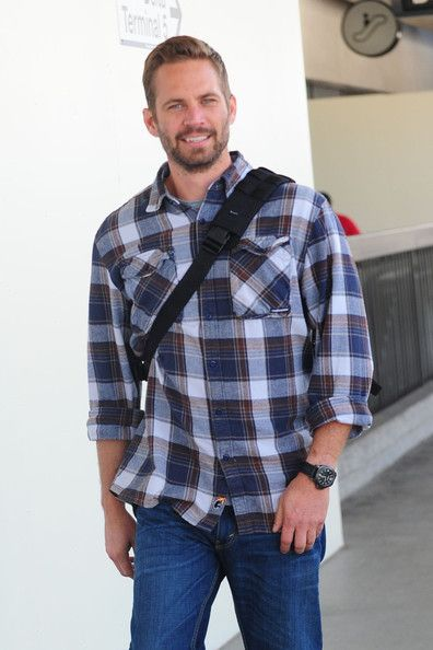 Paul Walker Button Down Shirt | Paul walker, Paul walker photos ...