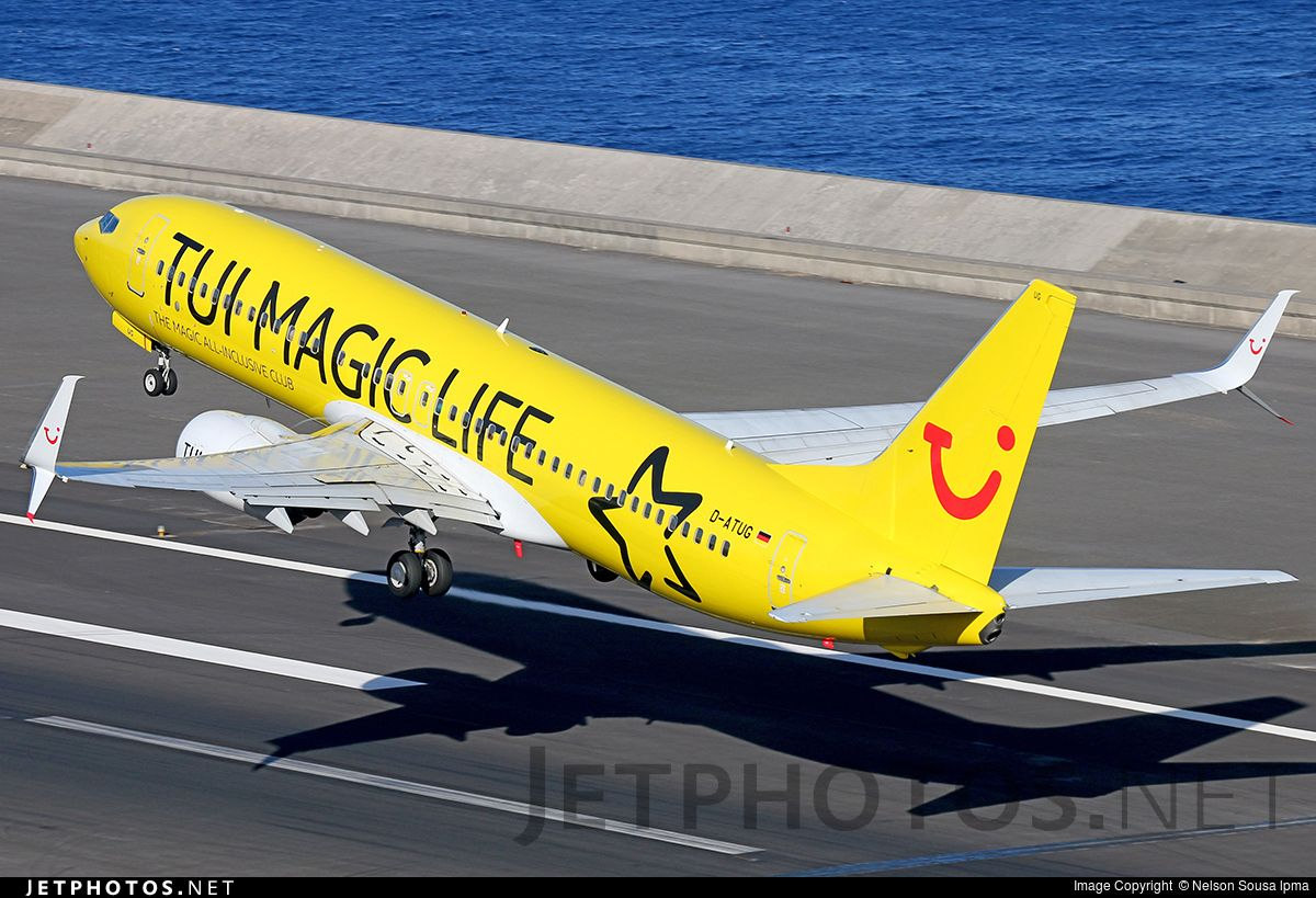 Photo of DATUG Boeing 7378K5 by Nelson Sousa lpma