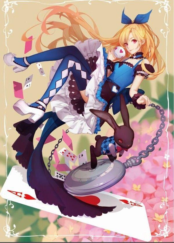 Alice Alice In Wonderland 1963148 Zerochan Anime Kawaii