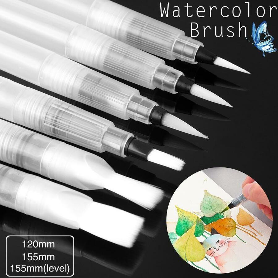 Refillable Pilot Water Brush Ink Pen Painting Watercolor Drawing Pen Pencil