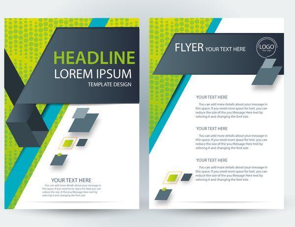 Flyer Template Modern Style Brochure Template Brochure Design Template Free Brochure Template