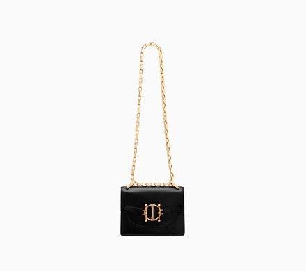 Diordirection flap bag in black lambskin - Dior  0648166808685
