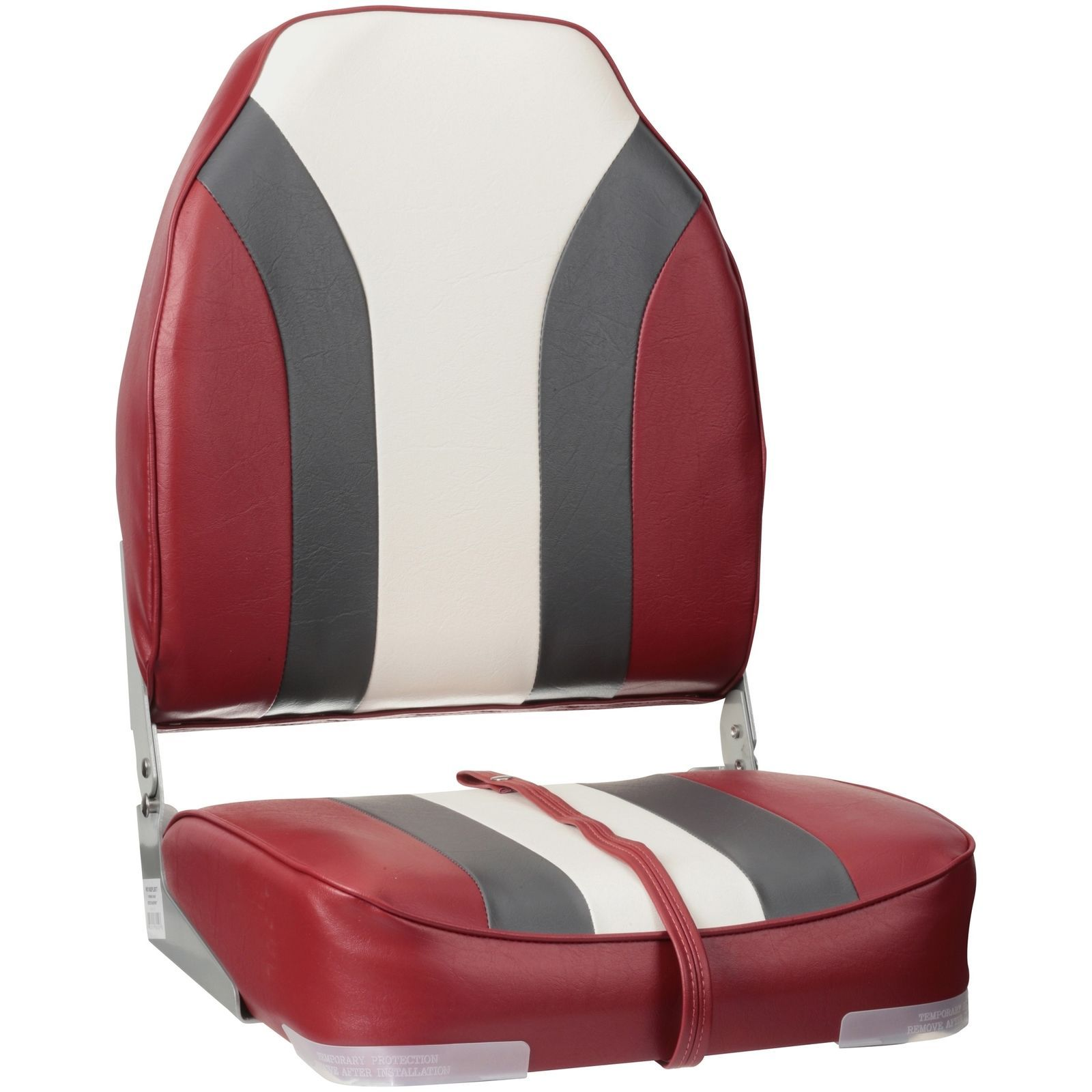 New Wise Heavy Duty Marine Vinyl Fishing Boat Seat Chair Red